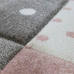 Kinderteppich Grau Rosa : kinderteppich karo herzen sterne rosa grau teppichcenter24 ~ Eleganceandgraceweddings.com Haus und Dekorationen