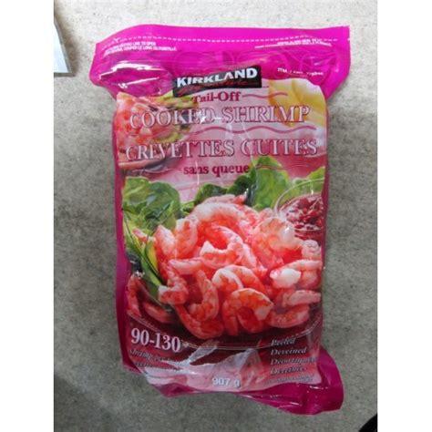Shrimp,kirkland,fish,frozen