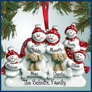 Amazoncom  Personalized Christmas Ornaments Snowman