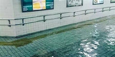 dunia kagum air banjir  jepang bening  kolam renang merdekacom