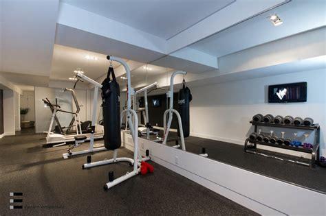 44 belvedere drive moderne salle de sport toronto par element design build inc