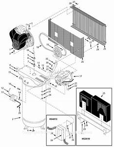Campbell Hausfeld Hs2810 Parts Diagram For Air