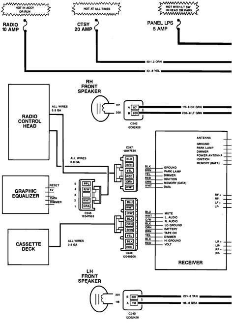 93 S10 Radio Wiring by I A 1993 Chevy Silverado 1500 Recently The Radio