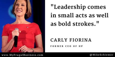 bootstrap business carly fiorina quotes