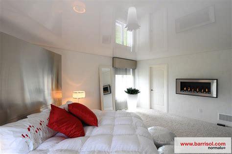 peinture plafond chambre chambre à coucher le plafond tendu barrisol dans votre
