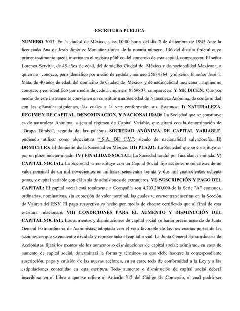 Calaméo - Escritura Publica Bimbo