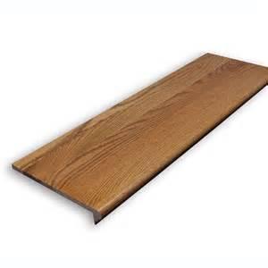 Wood Stair Nosing For Tile by Shop Stairtek Retrotread 11 5 In X 36 In Gunstock