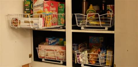 Wire Storage Baskets For Kitchen Cupboards by How To Add Roll Out Wire Baskets To Kitchen Cabinets