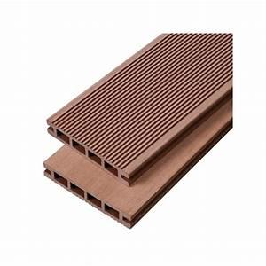 Terrasse Lame Composite : lame terrasse bois composite alv olaire ip a mccover ~ Edinachiropracticcenter.com Idées de Décoration