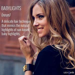 Baby lights the hottest hair color in town talking of