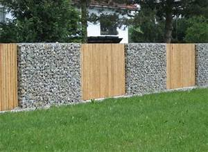 Gabionenzaun Mit Holz : pinterest ein katalog unendlich vieler ideen ~ Lizthompson.info Haus und Dekorationen