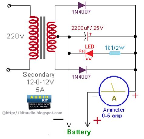 solar  battery charger circuit diagram circuit