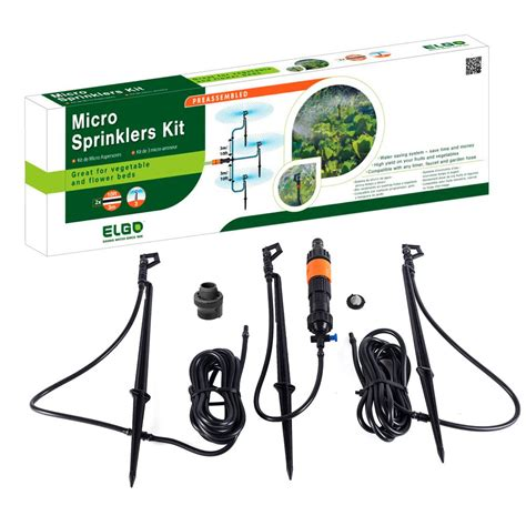 kitchen faucet with spray elgo micro sprinkler kit elms3 the home depot