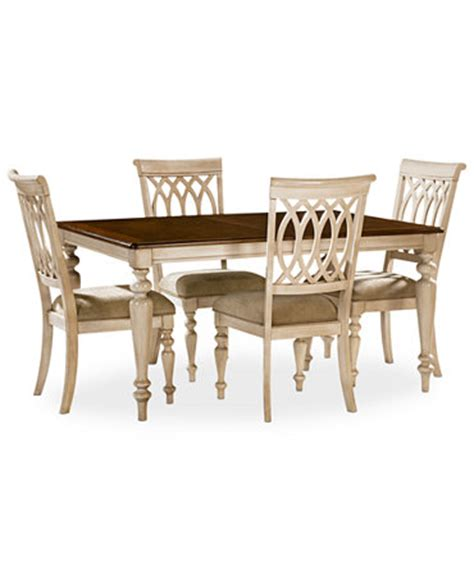 Macys Dining Room Table And Chairs by Dovewood Dining Room Furniture 5 Set Table And 4