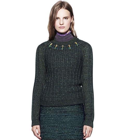 burch sweater burch sweater in black black multi lyst