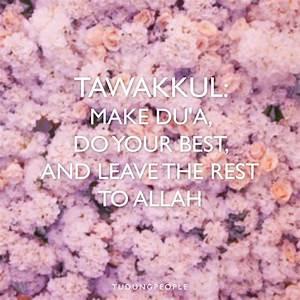29 best images ... Allah Tawakkul Quotes