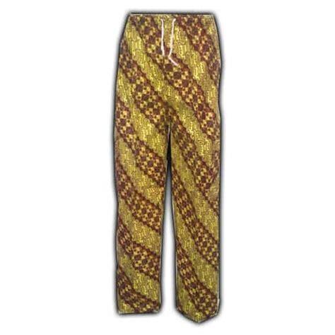 celana panjang batik kolor pusaka dunia