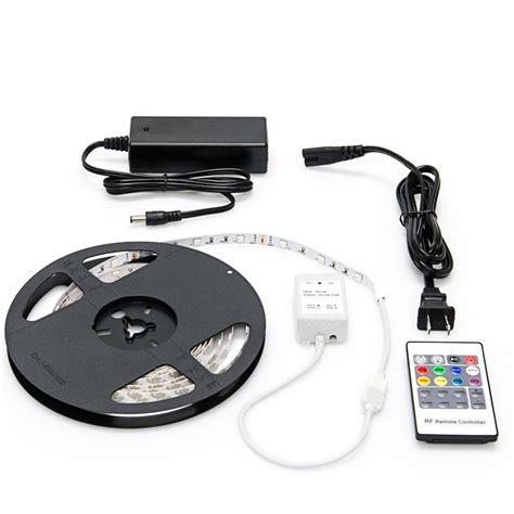 led video light kit nfls rgb150 kit color changing flexible led light strip