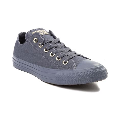 womens converse chuck taylor  star lo lux sneaker gray