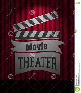 Theater Stage With A Red Curtain Icon Cartoon Vector ...