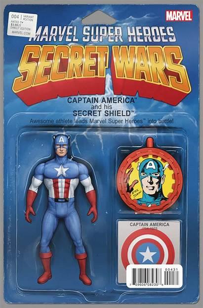 Variant Secret Wars Action Figure Vol America