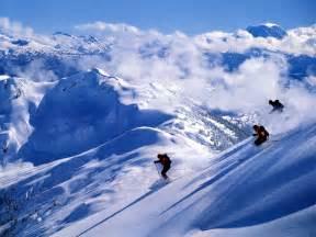 Downhill Snow Skiing