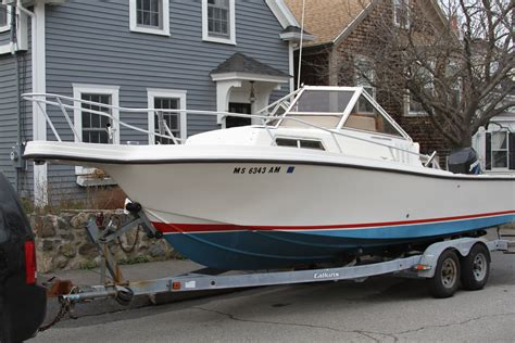 Mako Cuddy Cabin Boats For Sale by 1990 Mako 23 Cuddy 8000 Obo Reduced The Hull