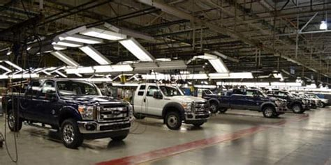 Ford Kentucky Truck Plant by Ford Kentucky Truck Plant Factory Tour Truck Cer