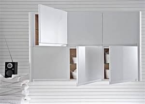 meuble cuisine mural nice ikea meuble cuisine haut 8 With carrelage adhesif salle de bain avec g24q 3 led