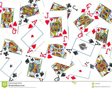 playing cards royalty  stock images image