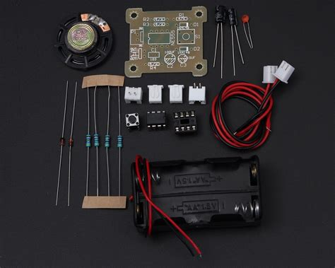 Icstation Electronic Doorbell Diy Kit From
