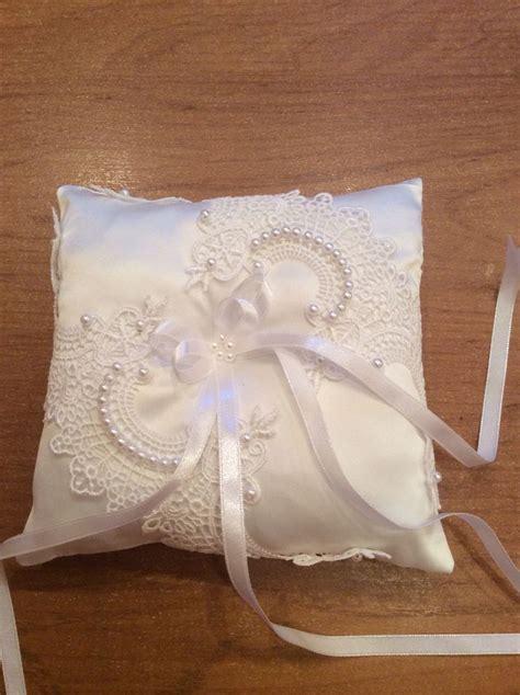 подушечка для колец автор лариса кулюлина ring pillows