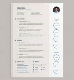 design resume template free 20 creative free resume cv templates to