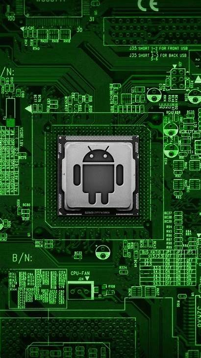 Wallpapers Circuit Board Android Chip Mobile Phone