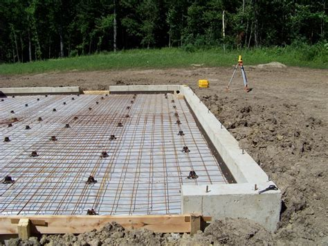 How to pour a concrete foundation