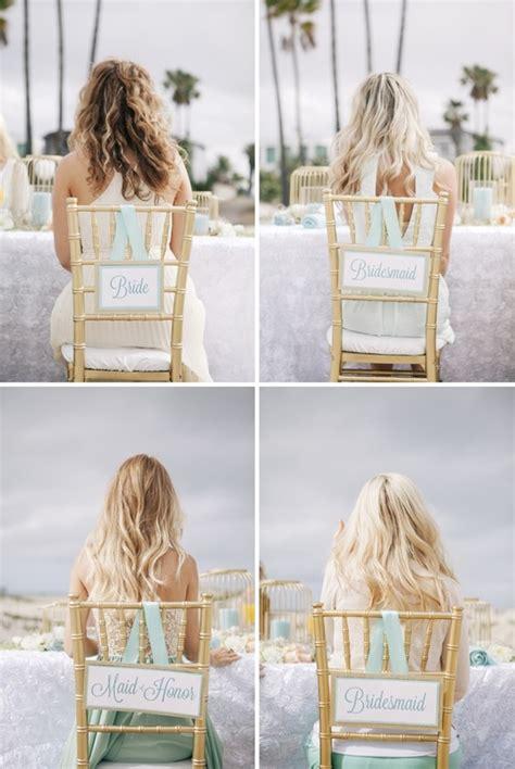 diy wedding reception chair signs it weddings
