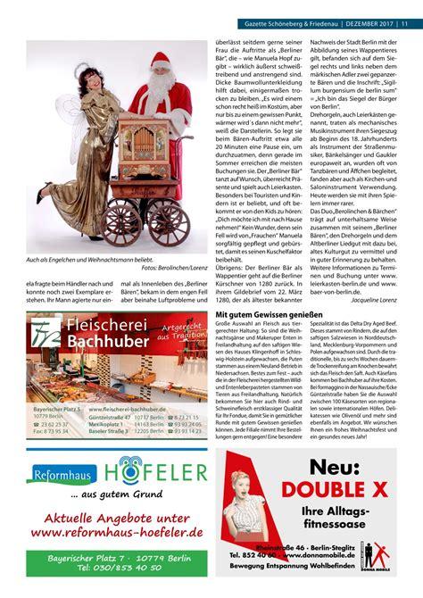 Gazette Schöneberg And Friedenau Dezember 2017