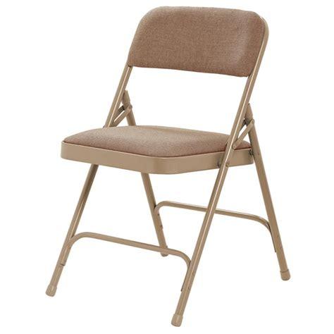 caprock furniture fabric padded folding chair 3434
