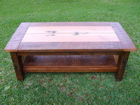 Custom coffee tables handmade wood coffee tables custommade com. Hand Crafted Reclaimed Heart Pine Coffee Table by Norm's Custom Woodworking   CustomMade.com