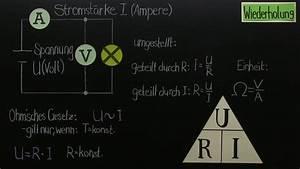 Elektrischer Widerstand Berechnen : rechnen in der elektrik physik online lernen ~ Themetempest.com Abrechnung
