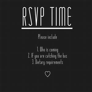 rsvp reminder m y w e d d i n g pinterest With wedding invitation reminder template