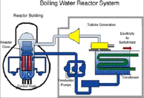 principle of a nuclear power plant with boiling water reactor download scientific diagram
