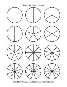 7 x table worksheet fraction circles clipart 60