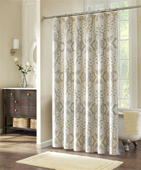Fabric Shower Curtain With Liner by Neutral Curtains Furniture Ideas Deltaangelgroup