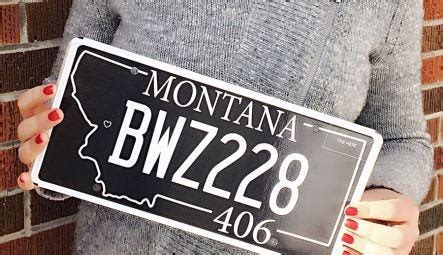 license plate benefiting missoula downtown foundation