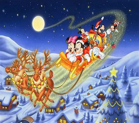Disney Merry Christmas Greetings