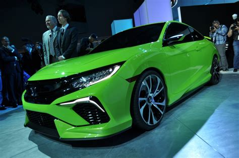 Car Show In New York by 2016 Honda Civic Concept At Ny Auto Show Previews
