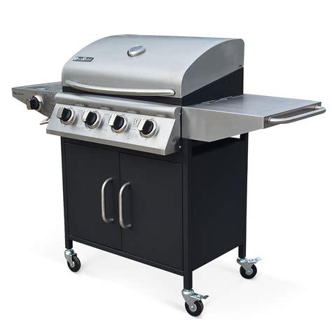 barbecue gaz bruleur inox remc homes