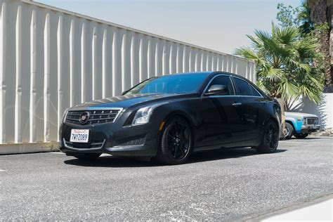 Lowered Cadillac Ats by Megan Racing Ez Ii 2 Coilovers Lowering Suspension