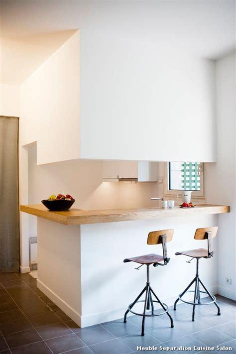 meuble separation cuisine salon with contemporain cuisine d 233 coration de la maison et des id 233 es